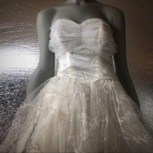 Dior Dresses - Vintage Dior Strapless Special Occasion Dress
